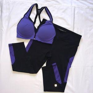 Victoria's Secret Yoga Pants and Sports Bra